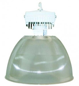 High Bay Induction Light Fixture 200 and 80 watt 120 and 277 volt