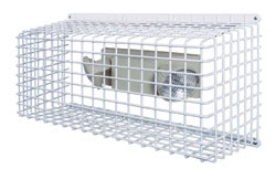 Emergency Light Lighting Protection Cage protects emergency lighting against damage and vandalism