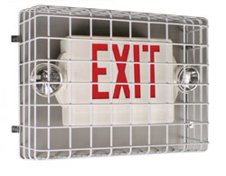 Exit Sign Protect Protection against damage and vandalism