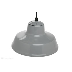 "14"" Hanging Farm Light With 6' Hanging Cord"