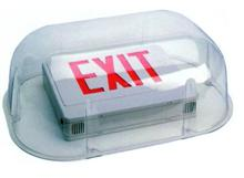 Polycarbonate Vandal Environmental Shield Guard Protect Protection for Exit and Emergency Lights Lighting