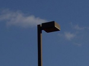 Parking Lot Light Lights Lighting Pole Box Fixture