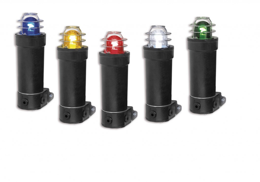 Hazardous Location GRP Strobe Light. The Federal Signal model WV450XD and WV450XE are ideally suited for explosive atmospheres and harsh environments. They are designed to serve the demanding needs of offshore marine and land based industrial applications. The housing is made of corrosion resistant components, which dramatically reduces the cost of long-term maintenance